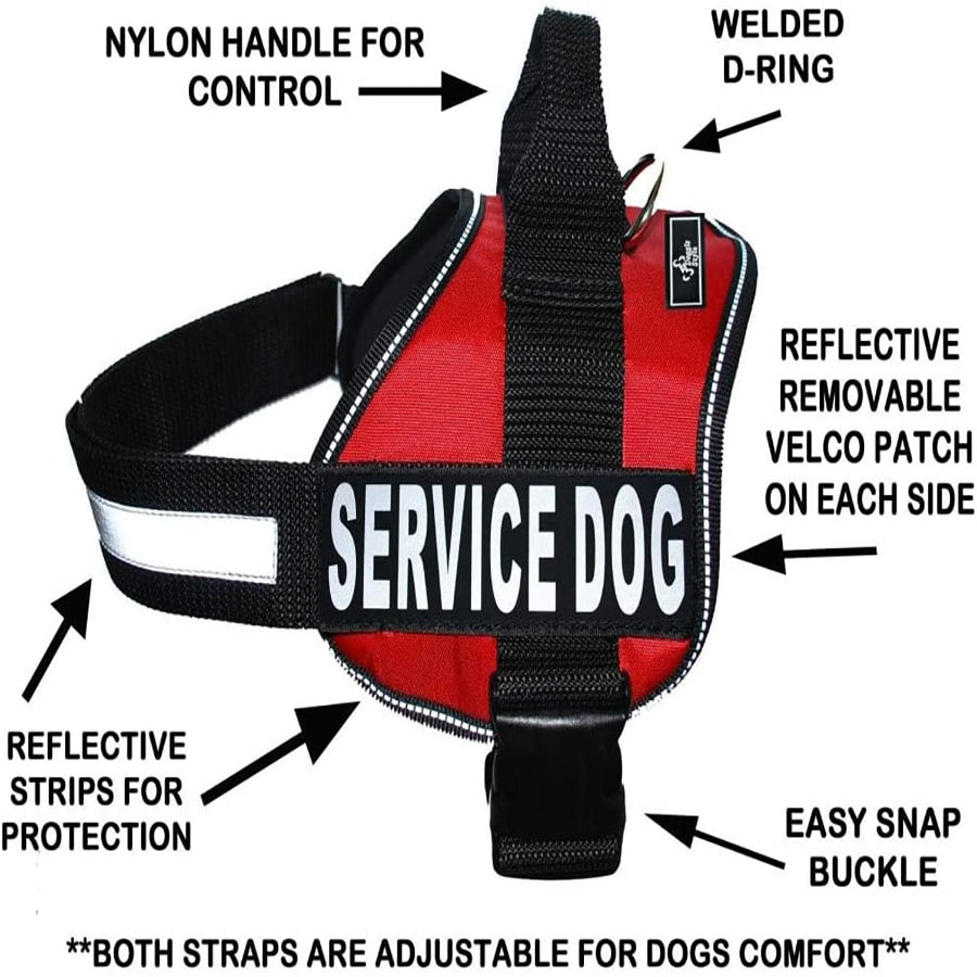 harness for service dogs
