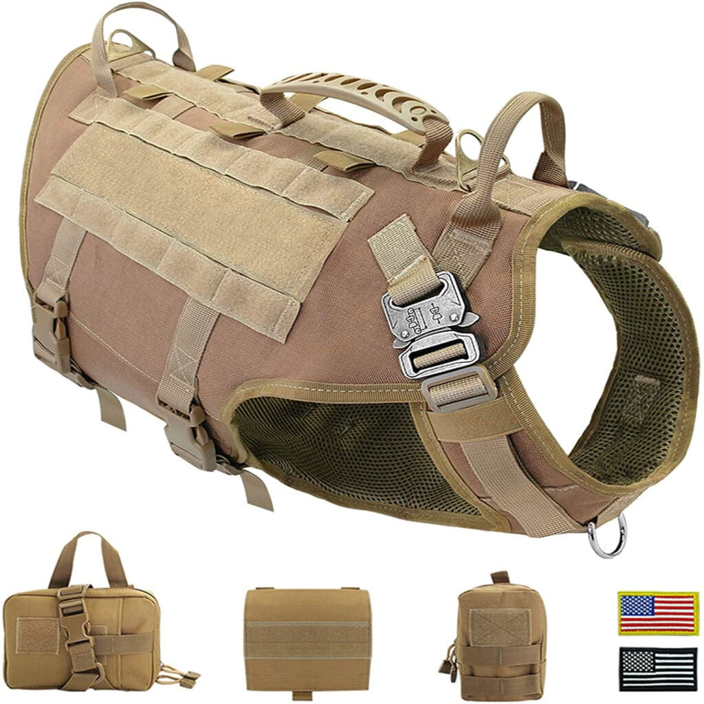 tactical harness with pouches